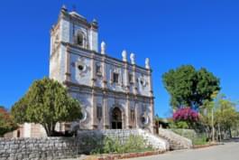 Iglesia en Baja California Sur, México