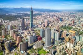Vista su Taipei