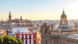 Zentrum von Sevilla