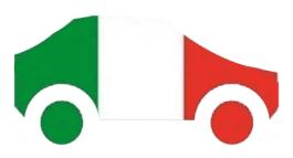 Jungfahrer in Italien