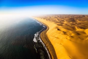 Skeleton Coast in Namibia