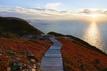 Skyline Trail in Nova Scotia, Kanada
