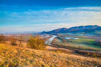 Stunning landscape in Romania