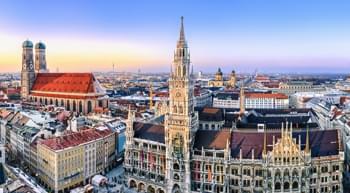 Mietwagen mieten und München im Winter besuchen