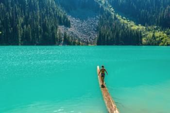 Bergsee Kanada