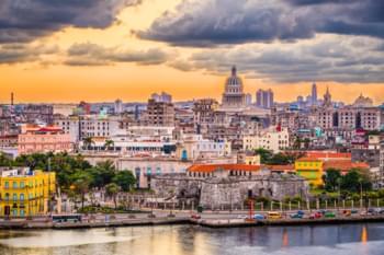 Sicht über Havanna