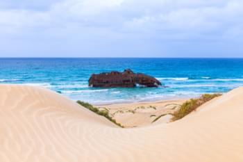 Sanddünen in Boa Vista, Kap Verde