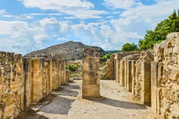 Palast Phaistos Kreta