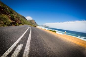 Calle en Sudáfrica