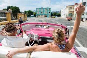 Mit dem Cabrio durch Kuba