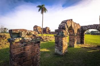 Ancient Jesuit Ruins in Paraguay