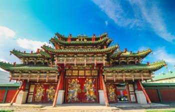 Bogd Khan Palast, Mongolei
