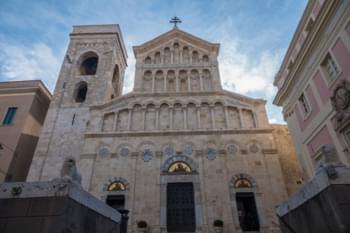 Cagliari Cathedral, Sardinien