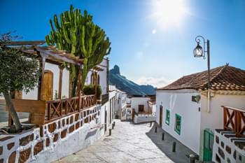 Ort Tejeda auf Gran Canaria