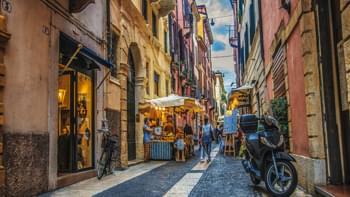 Gassen in Verona