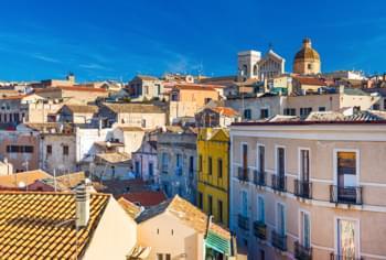 Altstadt von Cagliari, Sardinien