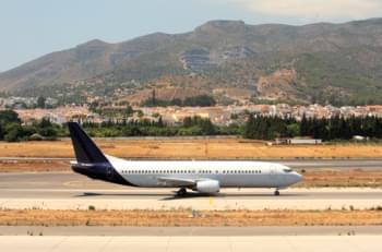 Un viaggio in aereo a Malaga