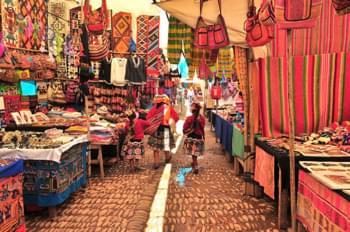 Mercato in Perù
