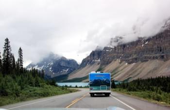 camping car de location route canada