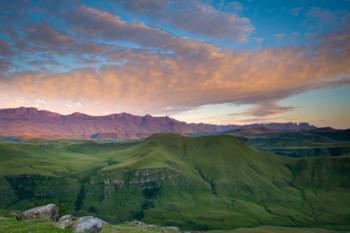 Landschaft in KwaZulu-Natal, Südafrika