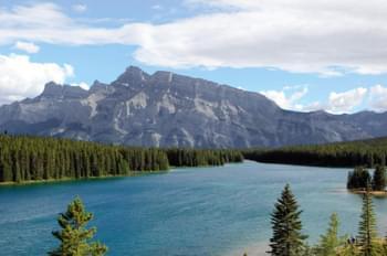 lac louise montagne canada banff