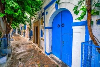 Tunis rijstrook