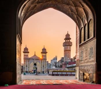 Wazir Khan Moschee, Pakistan