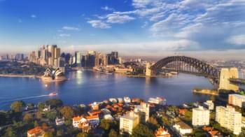 Blick auf Sydney, Australien