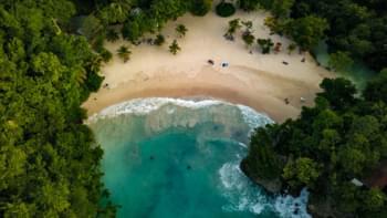 Strand in Jamaika
