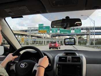 Autofahren in Miami