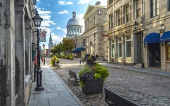 vieille ville vieux-montréal rue québec