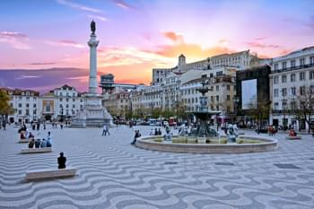 Marktplatz Lissabon