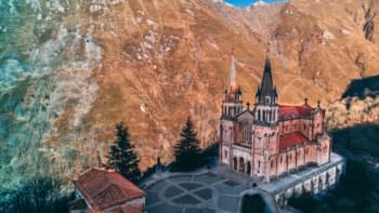 Covadonga Basilica, Asturias