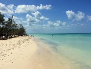Strand in Kuba