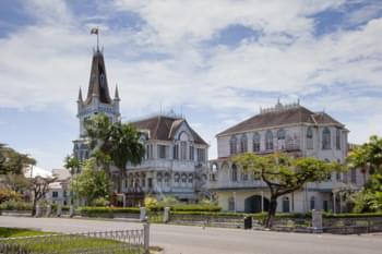 Unterwegs in Guyanas Hauptstadt Georgetown