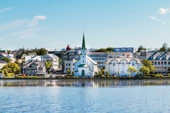 reykjavik vue sur la ville