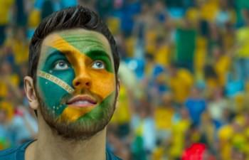 supporter brésil football musée sao paulo