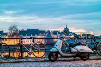 Biciclette a Maastricht