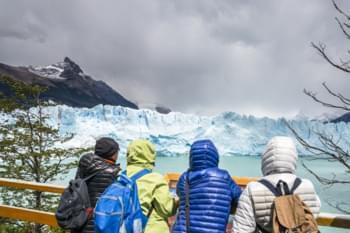 Gletscher im Nationalpark, Argentinien