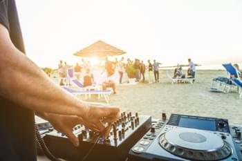 Beach Party with DJ