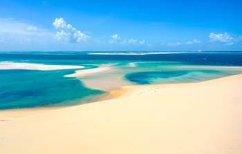 Beautiful beach, Mozambique
