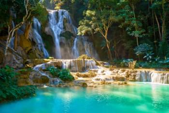 Cascate di Kuang Si Si, Laos