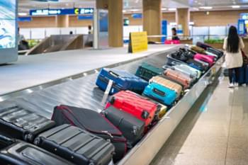 Flughafen Ankunft