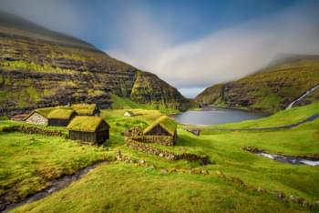 Discover the landscape of the Faroe Islands