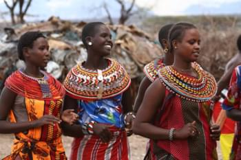 Massai in Samburu National Reserve