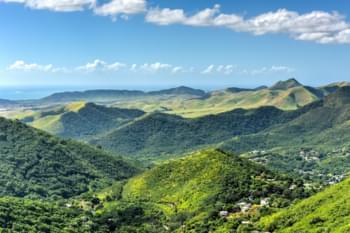 Faszinierende Landschaft in Puerto Rico