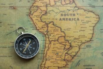 Reisen Sie nach Südamerika