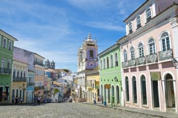 Salvador da Bahia Brésil architecture coloniale