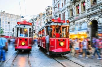 Tram in Istanbul