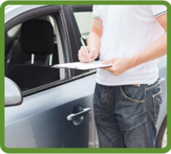 Mietwagen-Protokoll erstellen